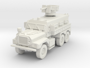 MRAP Cougar 6x6 early 1/72 in White Natural Versatile Plastic