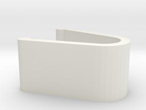 ClipSpring_00 in White Natural Versatile Plastic