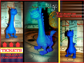 Polgo in Blue Processed Versatile Plastic