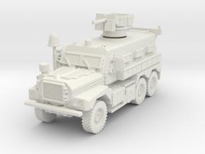 MRAP Cougar 6x6 mid 1/87 in White Natural Versatile Plastic