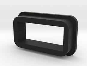 Tesla Model 3 USB extension adapter in Black Premium Versatile Plastic