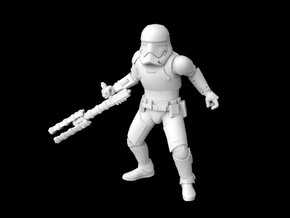 (Legion) First Order Riot Stormtrooper in Smooth Fine Detail Plastic