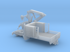 MOW Truck With Crane 1-87 HO Scale in Smooth Fine Detail Plastic