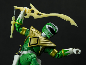 MMPR Green Accessory - Sword Of Darkness Unchained in White Natural Versatile Plastic