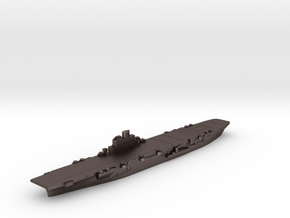 HMS Indomitable carrier 1948 1:3000 in Polished Bronzed-Silver Steel