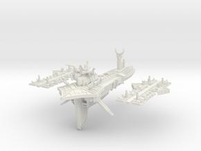 Slaanesh_2_capital_ship in White Natural Versatile Plastic