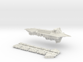 Nurgle_7_cruiser in White Natural Versatile Plastic