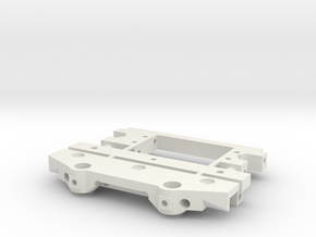 TF2 CMS with lowered bumper mount in White Natural Versatile Plastic