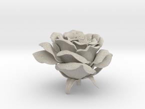 Rose head in Natural Sandstone