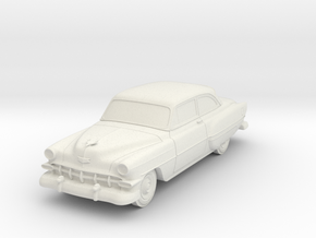 1954 Chevy 2 Door Bel-air in White Natural Versatile Plastic