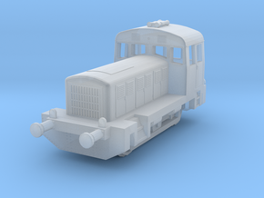 1/350th scale Hungarian M28 diesel locomotive in Smooth Fine Detail Plastic