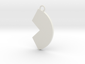 Cosplay Charm - Broken Circle in White Natural Versatile Plastic