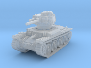 Panzer 38t D 1/144 in Smooth Fine Detail Plastic