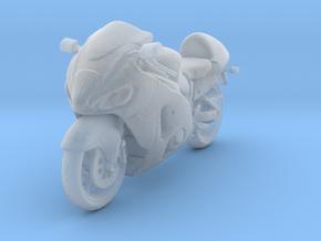 1/87 Suzuki Sports Motorcycle in Smooth Fine Detail Plastic