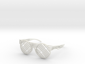 SOS - Eyewear in White Strong & Flexible
