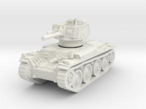 Panzer 38t E 1/100 in White Natural Versatile Plastic