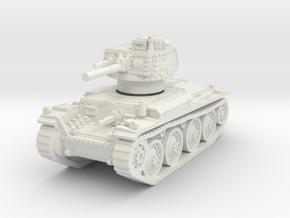 Panzer 38t E 1/87 in White Natural Versatile Plastic
