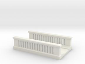 Concrete Bridge 1/220 in White Natural Versatile Plastic