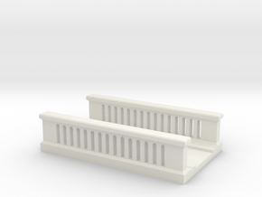 Concrete Bridge 1/220 in White Natural Versatile Plastic