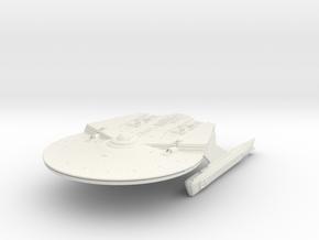 Federation Surya Class Cruiser in White Natural Versatile Plastic