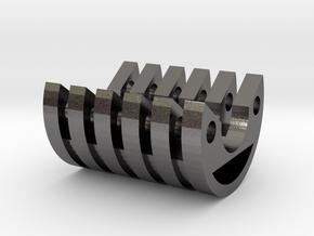 KR Luke V2 METAL CC Fins in Polished Nickel Steel