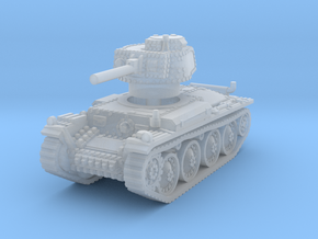 Panzer 38t G 1/200 in Smooth Fine Detail Plastic