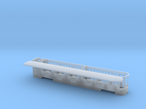 WHR Pullman observation coach NO.2100 (Glaslyn) in Smooth Fine Detail Plastic