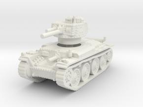 Panzer 38t S 1/120 in White Natural Versatile Plastic