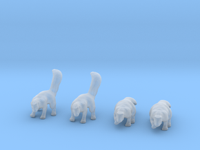 Skunk Adults Set in Smoothest Fine Detail Plastic: 1:64 - S