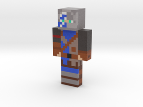 2019_04_05_blue-knight-12905686 | Minecraft toy in Natural Full Color Sandstone