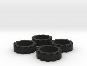 BrawnOutback Tire in Black Premium Versatile Plastic
