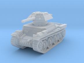 Auf panzer 38t 20mm 1/200 in Smooth Fine Detail Plastic
