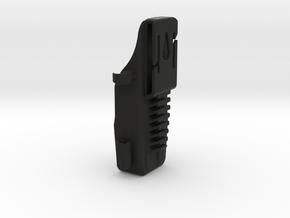Holster,ST300,BDU,Flat,Extender in Black Natural Versatile Plastic