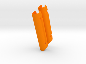 DM368  pg478C  dual 73mm in Orange Processed Versatile Plastic