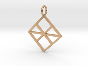GG3D-028 in Polished Bronze