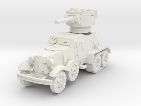 BA-6 (with Tracks) 1/76 in White Natural Versatile Plastic