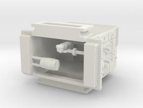 1/87 FDNY Seagrave SQUAD pump in White Natural Versatile Plastic