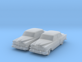 1954 Chevy 2 Door 210 (2) N Scale in Smooth Fine Detail Plastic