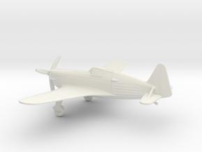 Morane-Saulnier M.S.406 in White Natural Versatile Plastic: 1:100