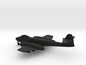 Gloster Meteor F8 in Black Natural Versatile Plastic: 1:160 - N