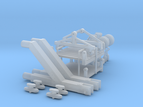Hoist frames & platforms in Smoothest Fine Detail Plastic