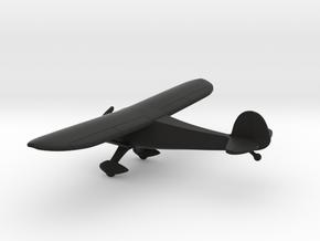 Monocoupe 90 Airplane in Black Natural Versatile Plastic: 1:100