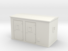 Transformer substation 1/56 in White Natural Versatile Plastic