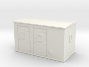 Transformer substation 1/144 in White Natural Versatile Plastic