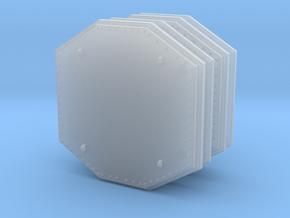 Aegis Radar Panel 01 . 1:144 Scale in Smooth Fine Detail Plastic