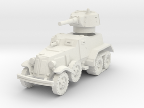 BA-10 (with Tracks) 1/56 in White Natural Versatile Plastic