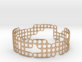 Bracelet in Polished Bronze