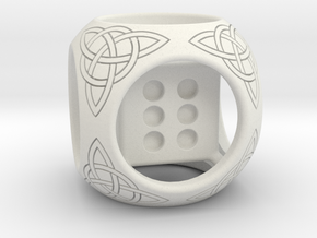 Celtic style die in White Natural Versatile Plastic
