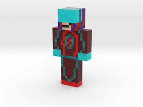 My skin red and blue | Minecraft toy in Natural Full Color Sandstone