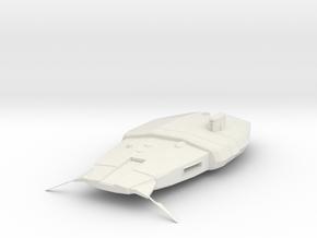2700 Alliance CC-9600 class Star Wars in White Natural Versatile Plastic